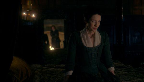 T02E08 Jamie y Claire hablan de Laoghaire