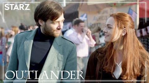 Outlander Love American Style Brianna & Roger STARZ