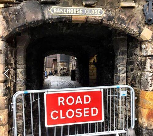 Bakehouse Close - Cerrado durante el rodaje