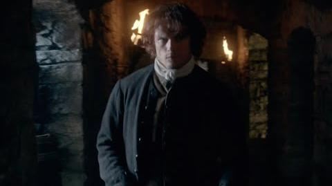 Outlander Jamie is Confronted by Laoghaire in the Midseason Premiere