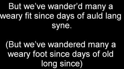 Auld Lang Syne - Dougie MacLean (Lyrics and Meaning)
