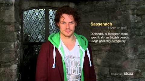 Speak Outlander Lesson 1 Sassenach