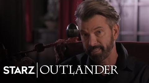 Outlander Jon Gary Steele Season 3 Interview STARZ