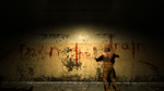 Prison Block Blood Message 2