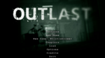 Outlast Main Menu
