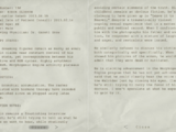 Project Walrider Patient Status Report of Eddie Gluskin