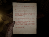 Letter from Val to Knoth