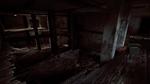 Collapsed upper floor