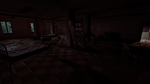 Room after collapsed floor