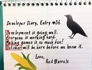 Diary Entry 36
