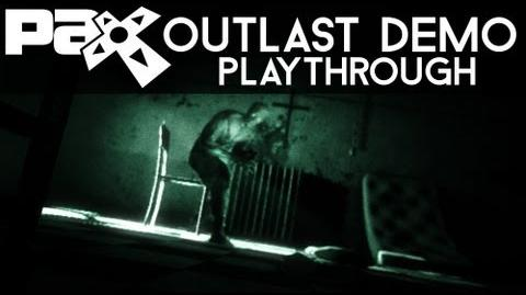 NEW Outlast PAX Prime Demo - FULL Playthrough!