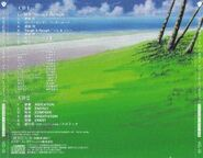 Outlaw Star Sound & Scenario Tracks (Back)