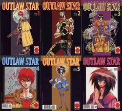 Outlaw Star Manga 1-6