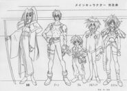Outlaw Star Sketch