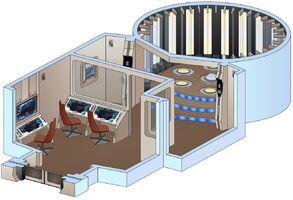 Uss saratoga transporter room