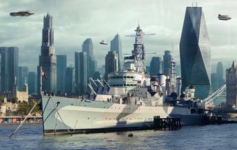 HMS Belfast Skyline