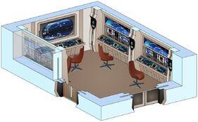 Uss saratoga sensor control room
