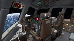 Sunbird cockpit complete