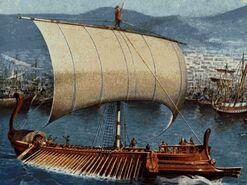 Odysseus's ship