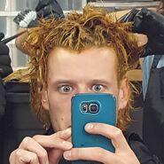 Oct 25 – Jordan hair