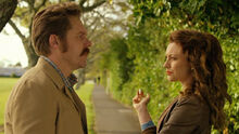 Westside 2x03 – Mike and Ngaire in the park