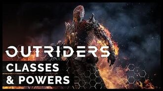 Outriders - Classes and Powers