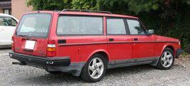 Volvo 240 Classic rear