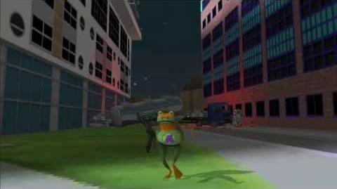 Amazing Frog? on OUYA