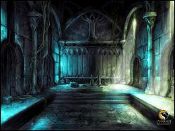 Evernight Temple Concept Artwork