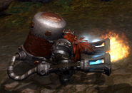 Overlord Dwarven Flamethrower 2