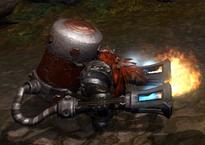 Гном-огнемётчик