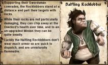 Halfling Rocklobber