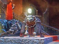 Gnarl,near the throne