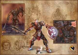 Fallen Knight Concept Art