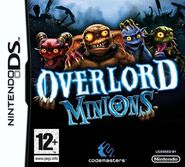 Overlord Minions PEGI Box Art