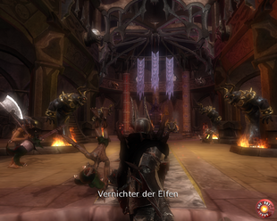 Velvet Throne Room