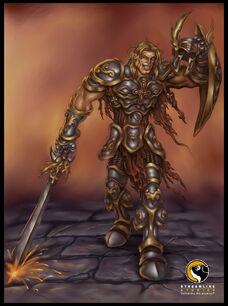 Fallen Knight Concept Artwork