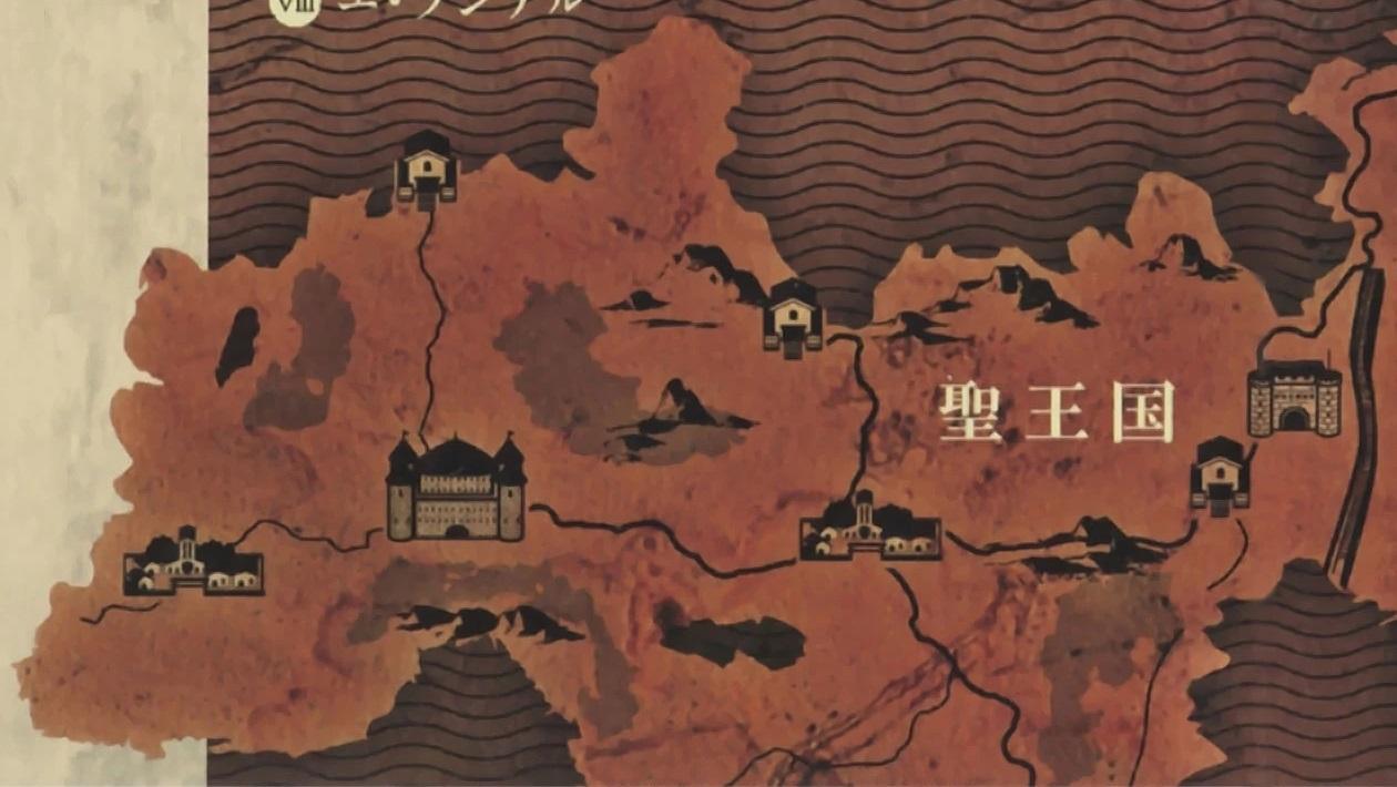 Overlord Anime World Map.Svyatoe Korolevstvo Robl Povelitel Viki Fandom Powered By Wikia