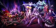 Momonga vs Floor Guardians