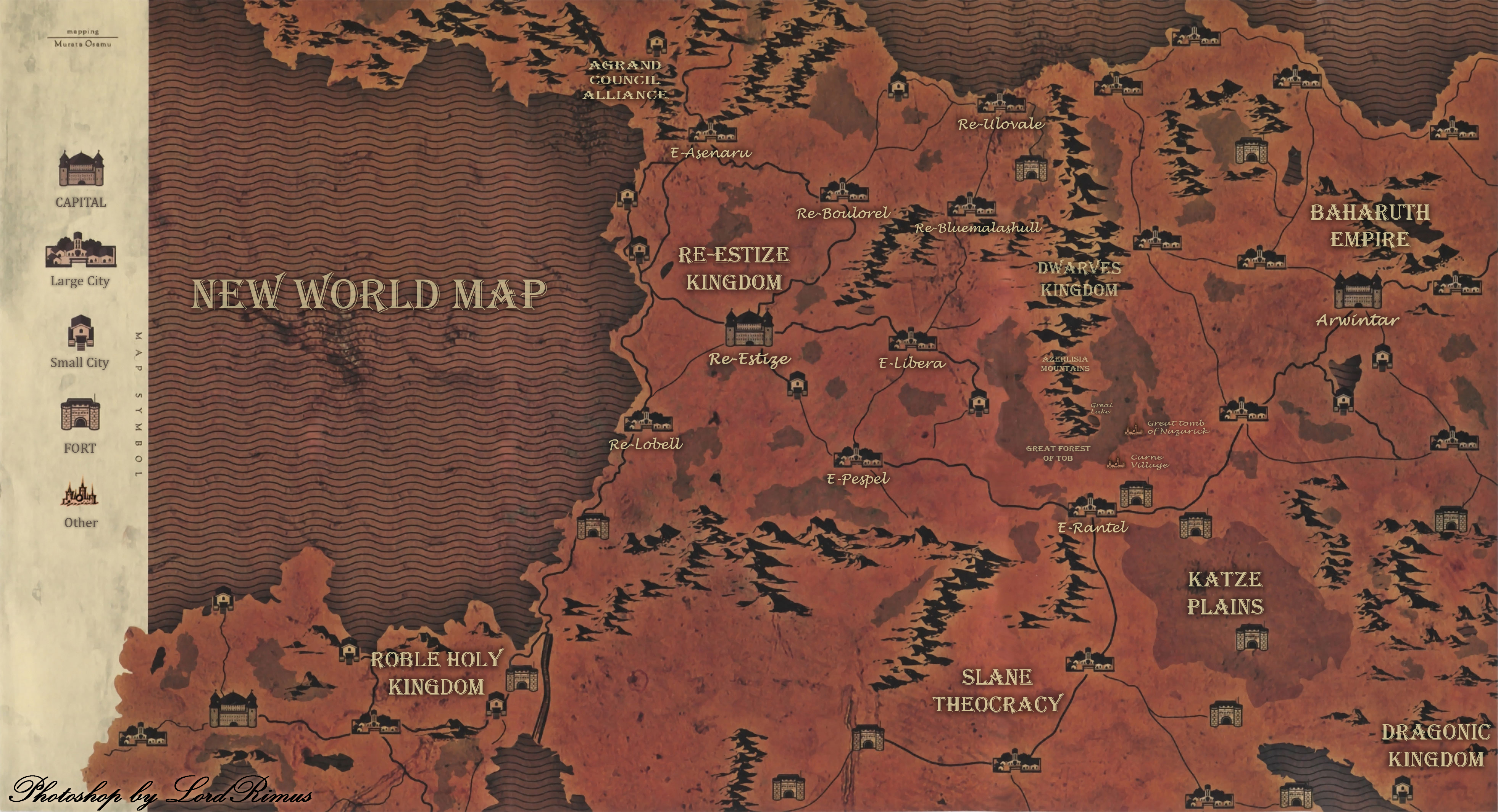 User blog:Cybberd1/New World Map Location Translations | Overlord
