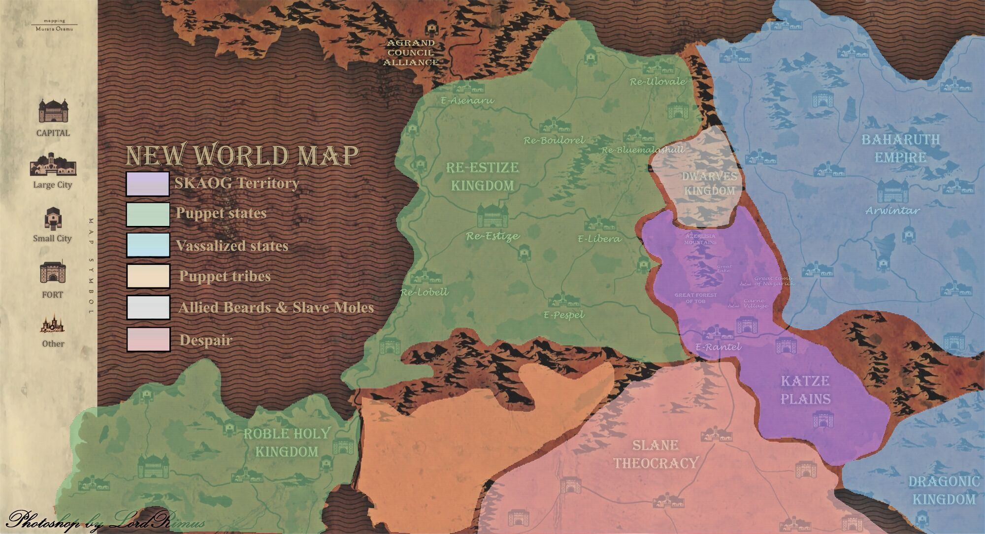 User Blog Disfigure Here Is A New World Map I Found Overlord Wiki