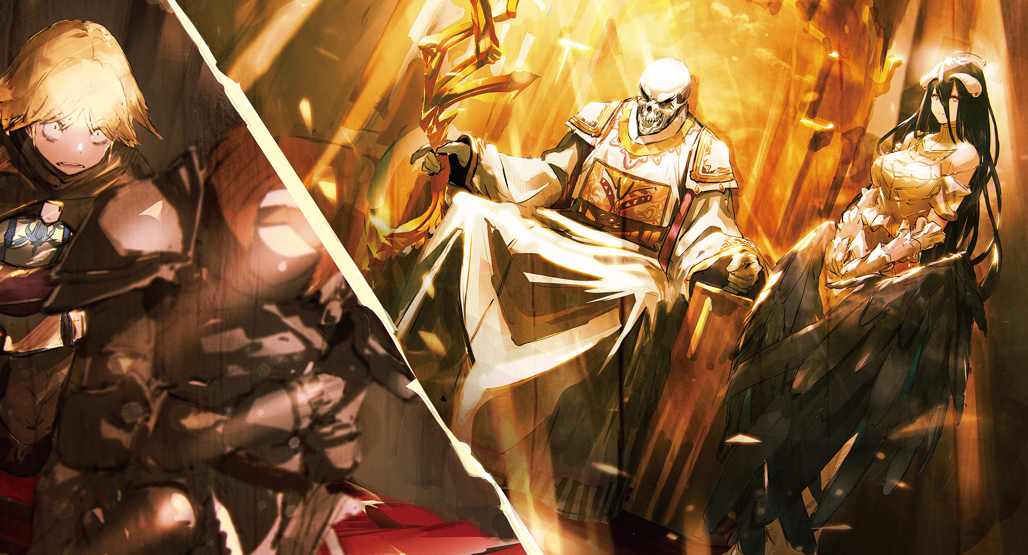 Downaload Overlord King And Warriors Art Wallpaper: Image - Meeting The Sorcerer King.png