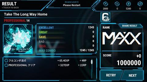 【RiraN Hardstyle!!】Take The Long Way Home (PROFESSIONAL) RANK MAXX!! 【OverRapid】