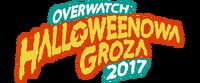 Halloweenowa Groza 2017 (logo)