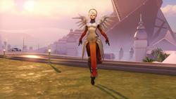 Łaska pozy anioł