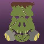 Ikona wieprzu potwór