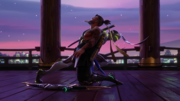 Genji and Hanzo meet and fight in Hanamura