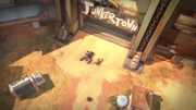 Junkrat and Roadhog thrown out Junkertown