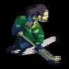 Lúcio graffiti hokej