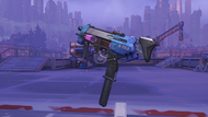 Sombra virus machinepistol
